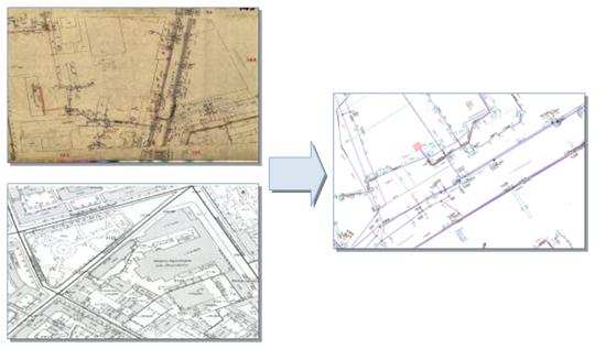 Формирование электронного архива исполнительной документации службы кабельных трасс