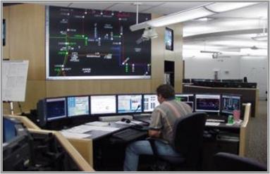 Диспетчерская ситуационного центра