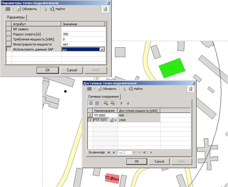 Данные SAP PM (ТОРО) - мастер данные для задачи поиска новых мест подключения абонентов
