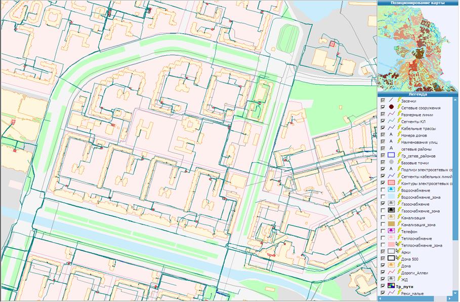Результат массового сбора и обработки пространственных данных
